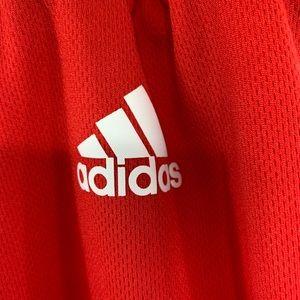 adidas Shorts - NBA Performance Shorts, Red Bull's. Adidas